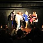 Na scenie w Klubie Komediowym