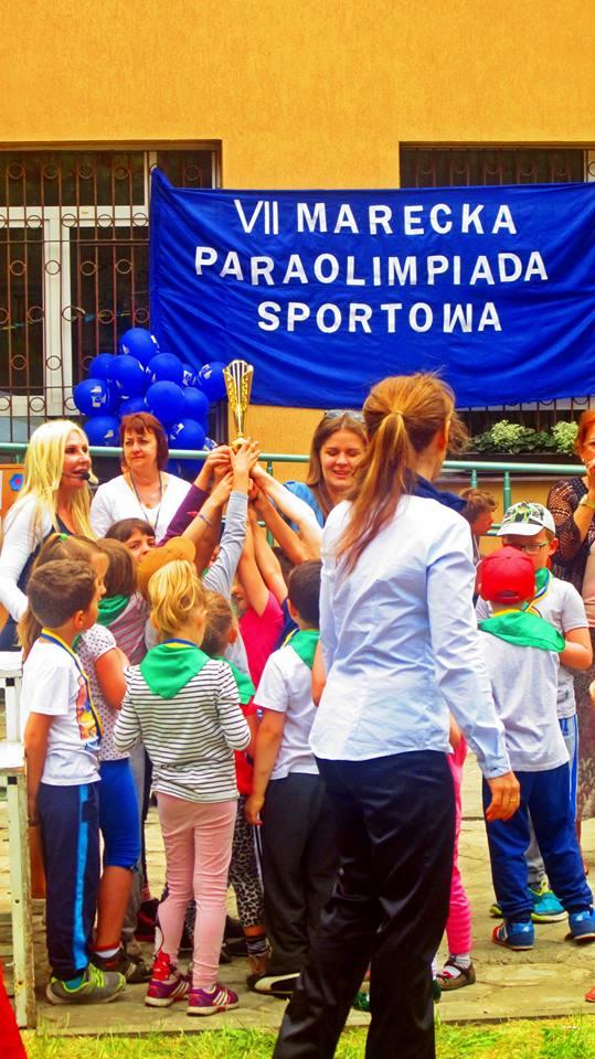 Prowadzenie Paraolimpiady dzieci w wieku szkolnym i przedszkolaków.