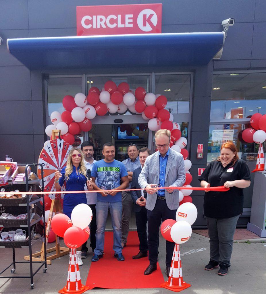 15 stacji benzynowych CircleK otwartych z Angel Events