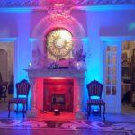 Oświetlenie led Pałac Lasotów